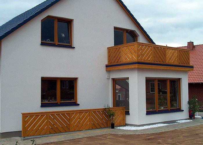 balcoane din lemn, balustrade