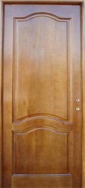 usa de interior din lemn