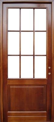 usi interior din lemn
