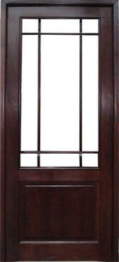 usa din lemn de interior