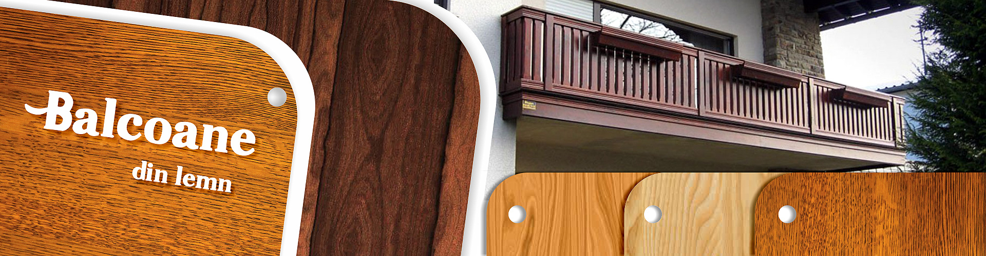 balcoane din lemn